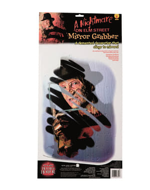 Dekoracja na lustro Freddy Krueger
