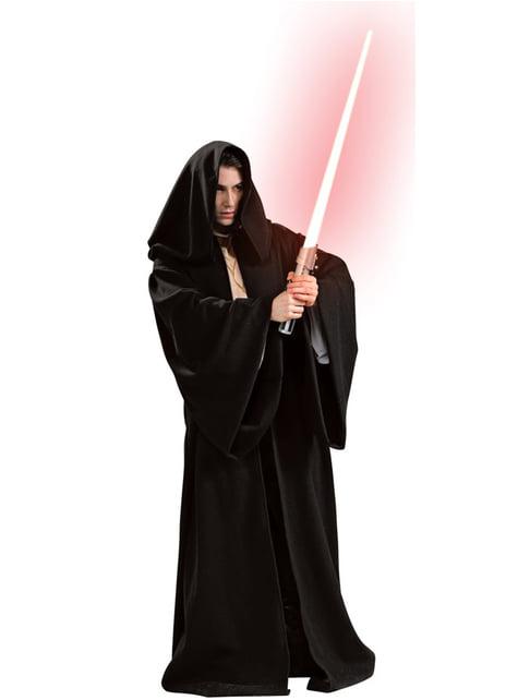 Sith robe med hætte deluxe