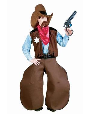 Fato de cowboy machão
