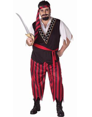Déguisement de pirate pour homme grand taille
