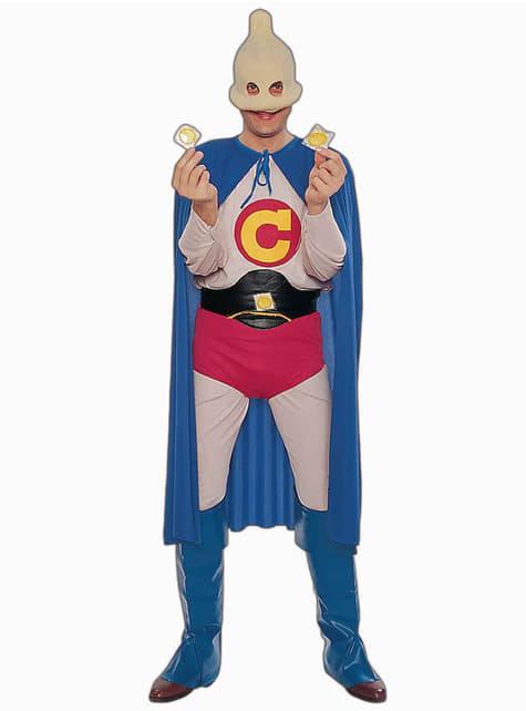 Captain Condom Adult Costume