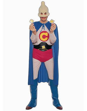 Kapitein Condoom Kostuum