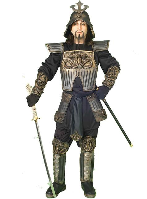 Samurai kriger kostume