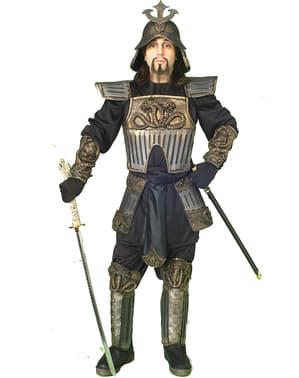 Fato de guerreiro samurai