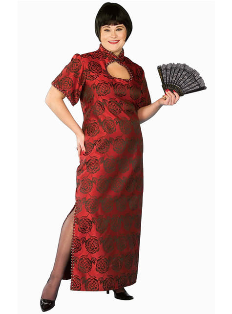 Plus Size Oriental Princess Adult Costume