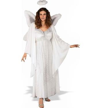 Плюс Размер Ангел Възрастен костюм