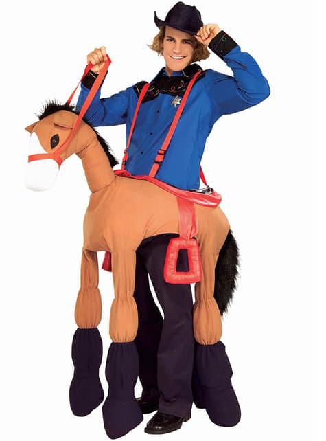 Ride My Pony Kostyme for Voksen