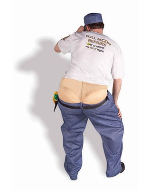 Worker's Crack Adult Costume