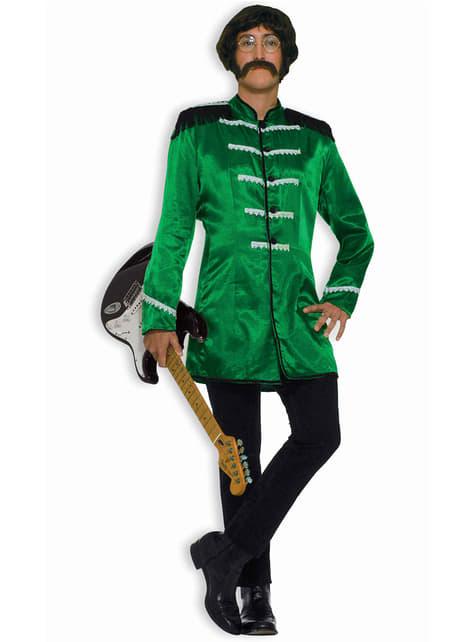 Green Brit Rocker Adult Costume