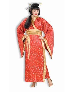 Dámský kostým gejša nadměrná velikost