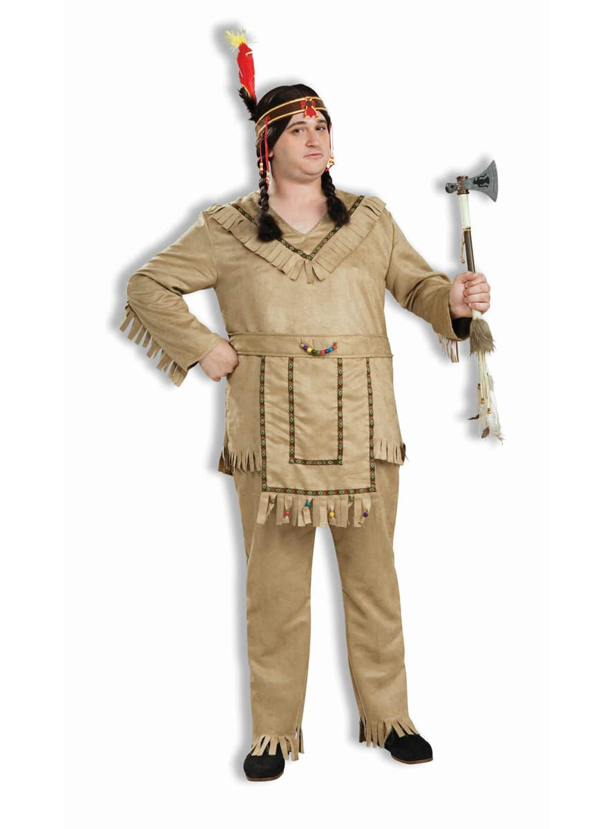 Disfraz De Indio Americano Talla Grande Have Fun Funidelia - Disfraz-india-americana