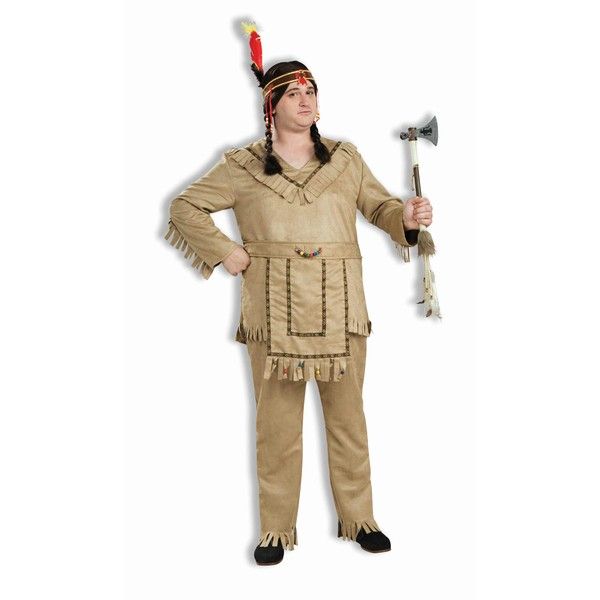 Plus Size American Indian Adult Costume