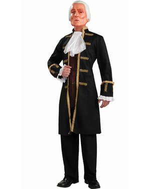 George Washington kostume med maske
