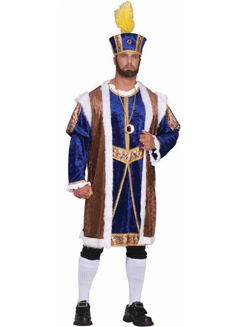 Kostým pro dospělé Jindřich VIII. nadměrná velikost