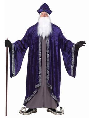 Disfraz de gran mago talla extra grande