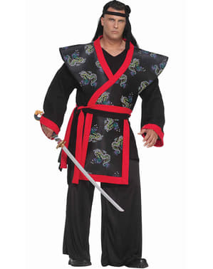 Плюс розмір Супер самурайський дорослий костюм