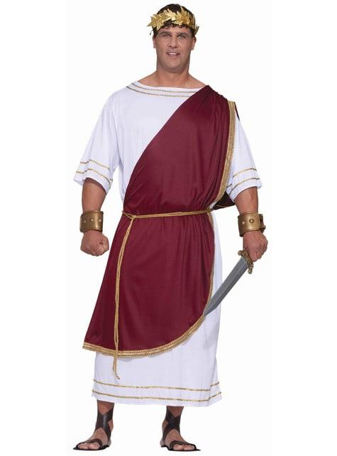 Keiser Ceasr plus size kostyme til Voksen