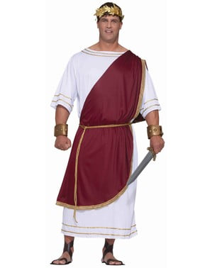 Plus Size Emperor Ceasar Adult Costume