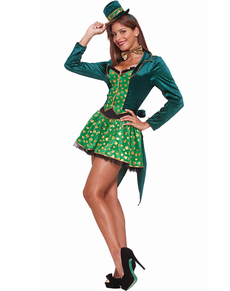 Disfraz de leprechaun sexy para chica