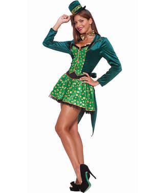 Disfraz de leprechaun para mujer