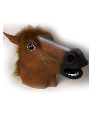 Crazy Horse Latex Mask