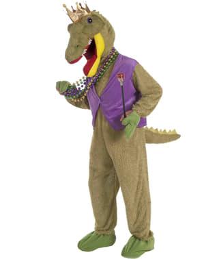 Déguisement du roi dinosaure