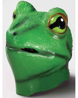 Frosch Maske