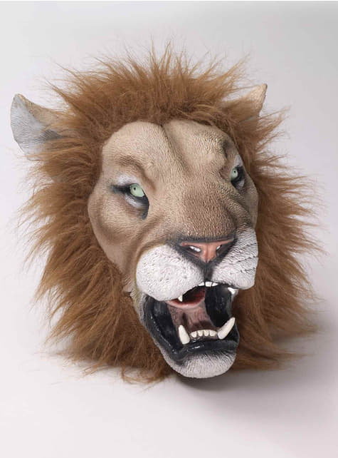 Lion Latex Mask