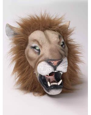 Latexová maska lev