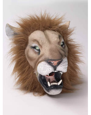 Lion Latex maska