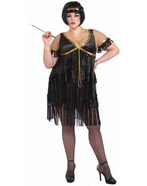 Plus Size Flapper Dancer Adult Costume