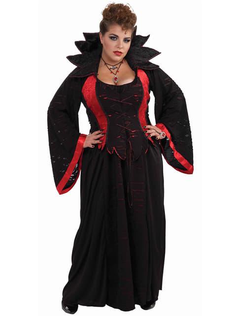 Strój wampirzyca duży rozmiar
