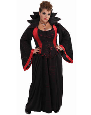 Дамски костюм на секси вампир, макси размер