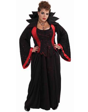 Плюс размер Vampire Vixen Възрастен костюм