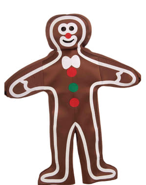 Costum gingerbread și caramel