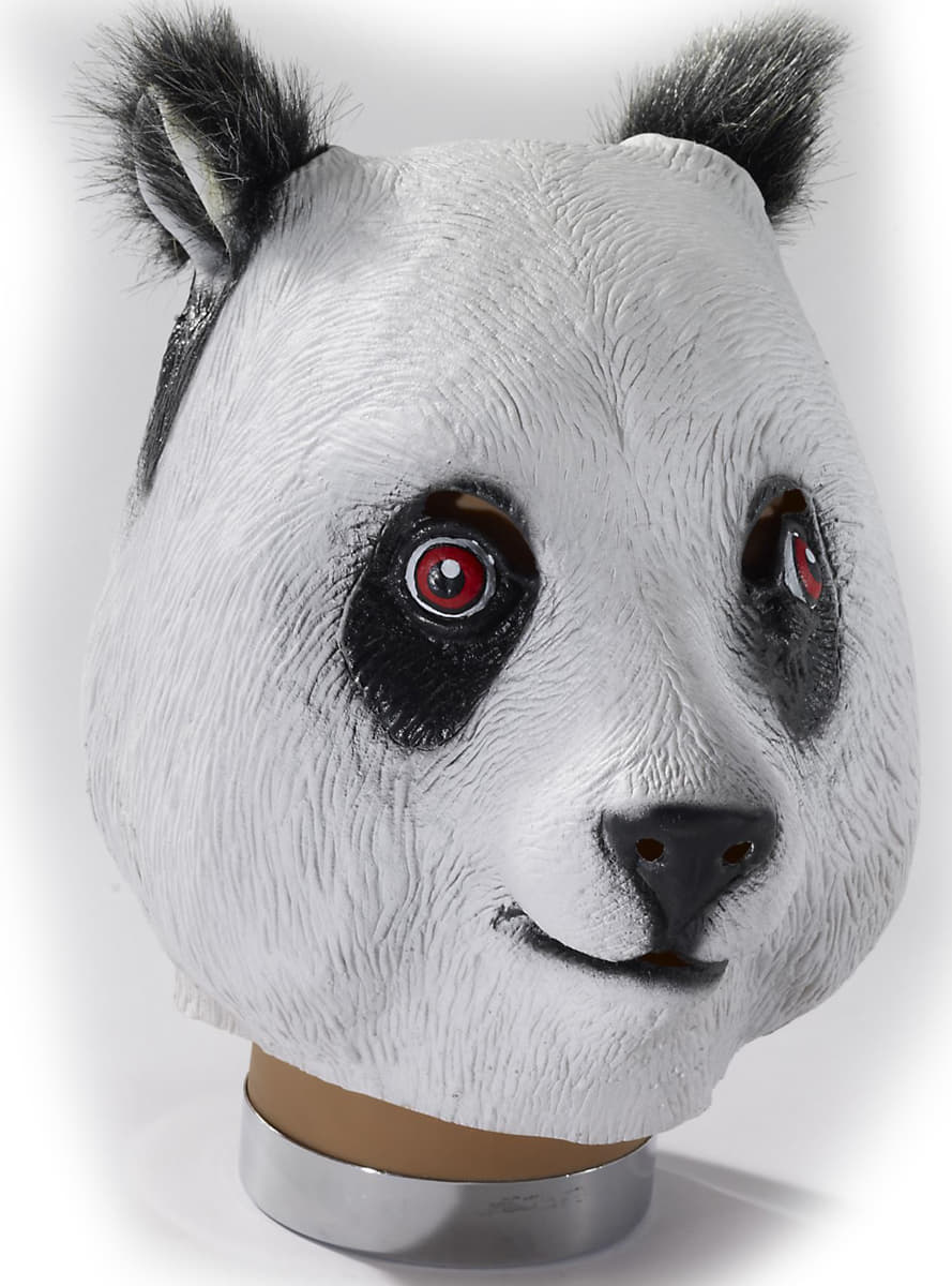 masque de panda acheter en ligne sur funidelia. Black Bedroom Furniture Sets. Home Design Ideas