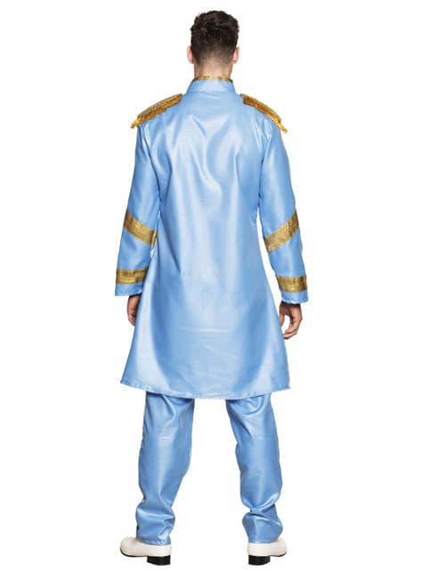 Disfraz de cantante de Liverpool azul para hombre - hombre