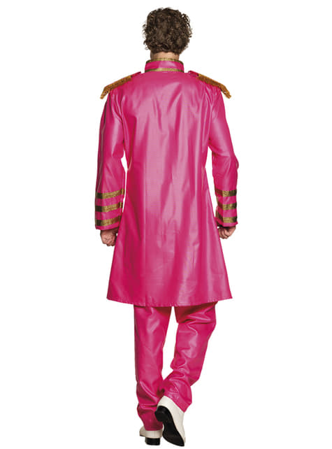 Disfraz de cantante de Liverpool rosa para hombre - hombre