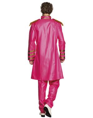 男性のためのピンクのリバプール歌手の衣装