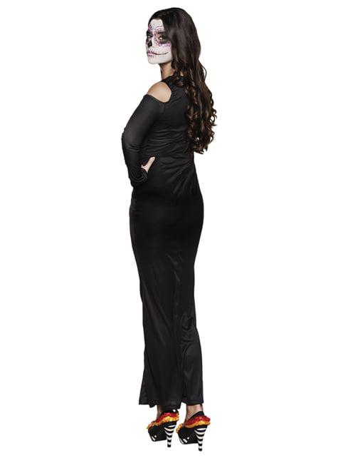 Fato de Catrina elegante para mulher