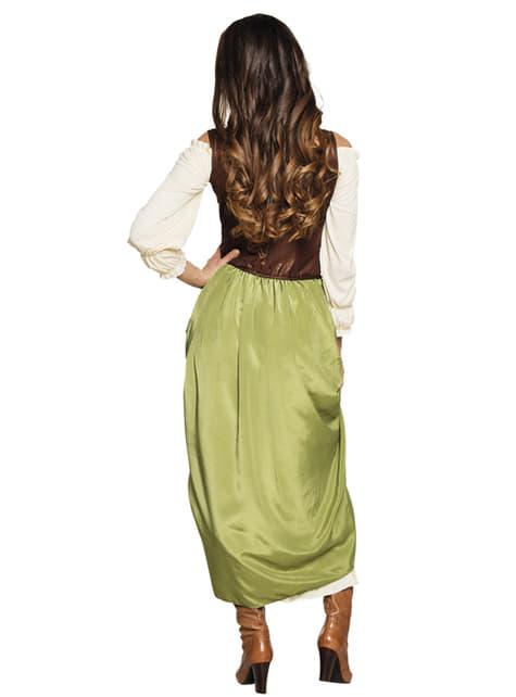Disfraz de tabernera medieval para mujer - mujer