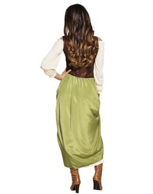 Middelalder kro kostume til kvinder