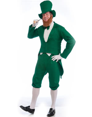 Elegant Leprechaun Adult Costume