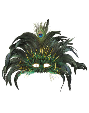 Peacock eye mask for women