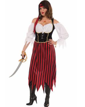 Kostium Panna pirat duży rozmiar