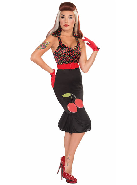 Cherry Ane Pin Up Adult Costume
