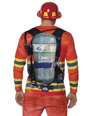 Sexy Feuerwehrmann T-Shirt für Herren