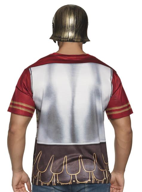 T-shirt de guarda romano para homem