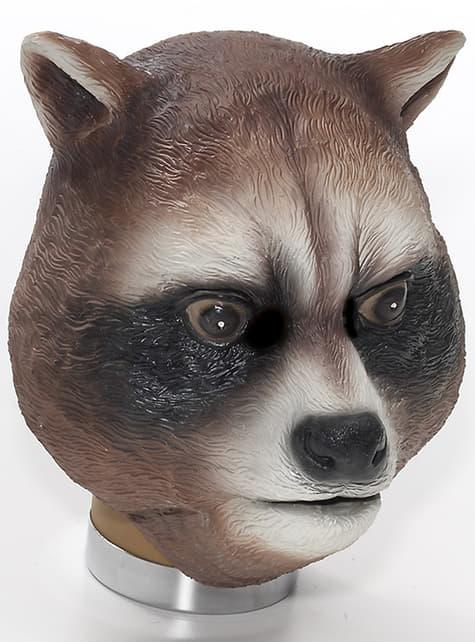 Vaskebjørn Latex Maske