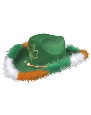 Chapéu de cowboy irlandês para adulto